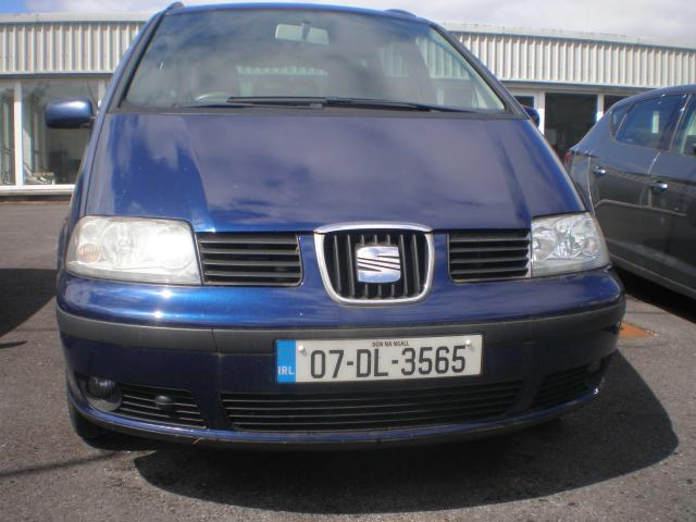 2007 SEAT Alhambra 1.9 TDI R 90BHP