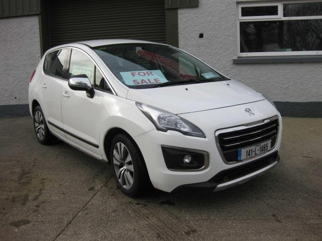 2014 Peugeot 3008 Active 1.6hdi 115 4DR