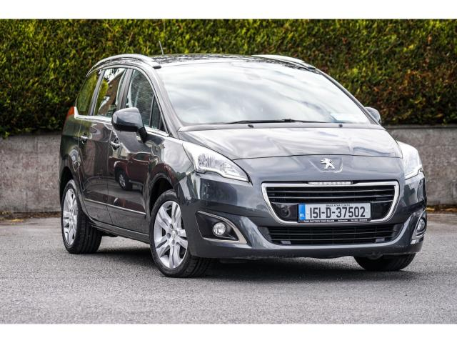 2015 Peugeot 5008 7 seater 1.6 E-HDI ALLURE ECOMATIQUE 112BHP