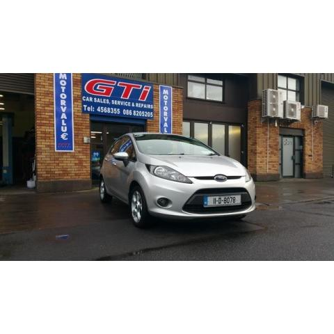 2011 Ford Fiesta **SOLD**1.25 STYLE 60PS
