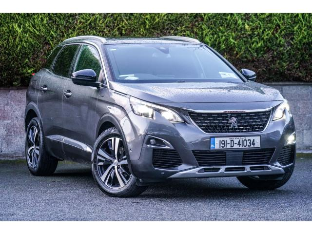 2019 Peugeot 3008 GT-LINE 1.5 BLUE HDI PANORAMIC ROOF 131bhp