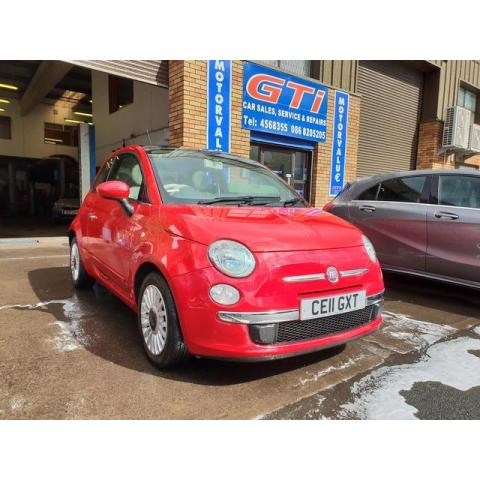 2011 Fiat 500 **SOLD** 1.2I LOUNGE S/S