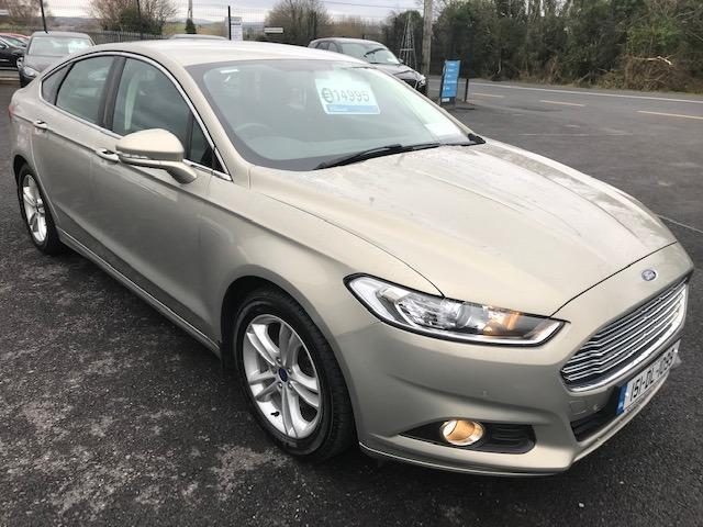 2015 Ford Mondeo 1.6TDCI ZETEC 115PS