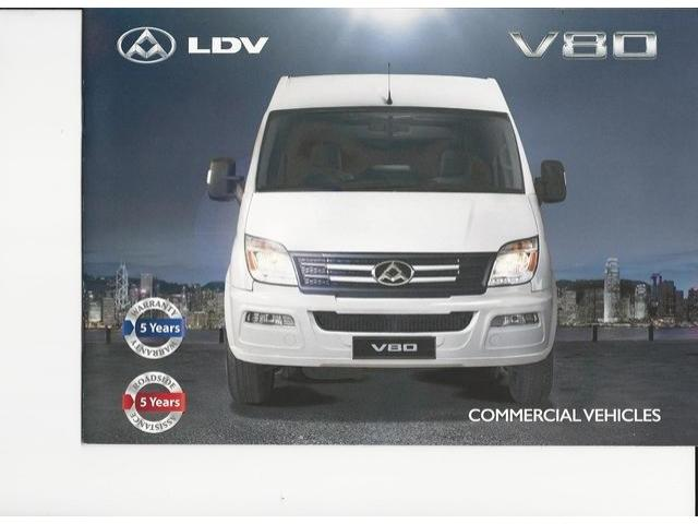 2018 LDV V80 Pickup
