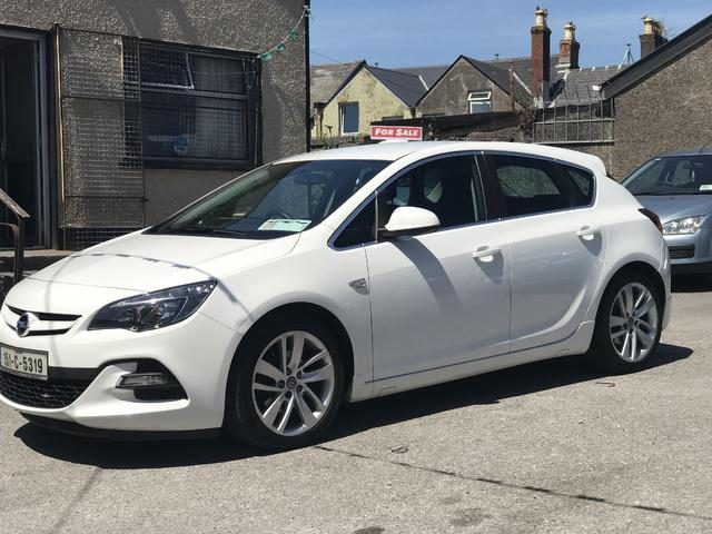 2015 Opel Astra SRI, 136 bhp Irish car
