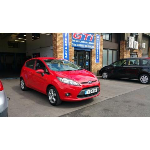 2010 Ford Fiesta 1.25 STYLE