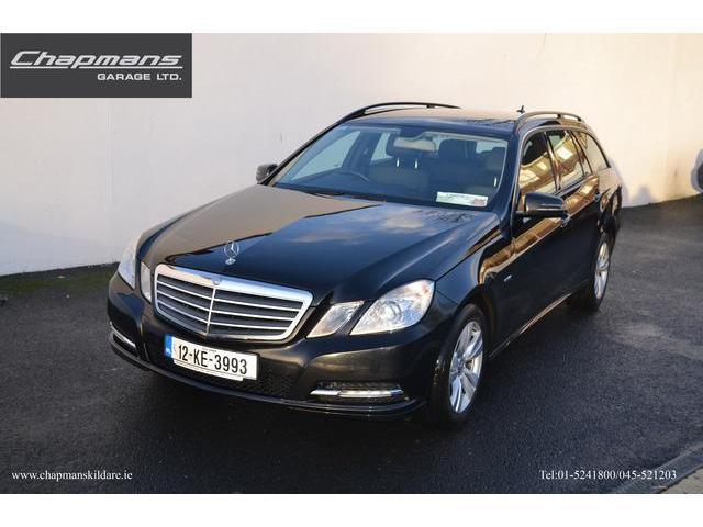 2012 Mercedes-Benz E Class CDI BE SE ED 125 5DR AUTO
