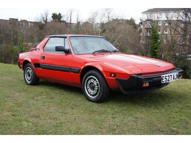 1987 Fiat X19 BERTONE 1 owner 19k