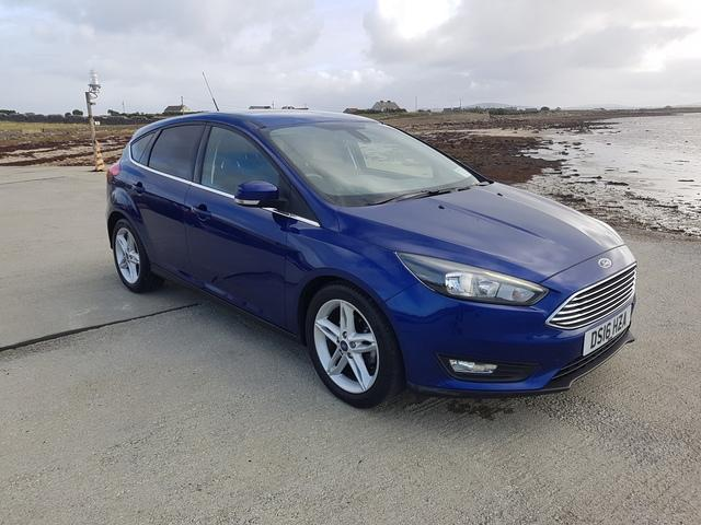 2016 Ford Focus 1.5 TDCI ZETEC 120PS