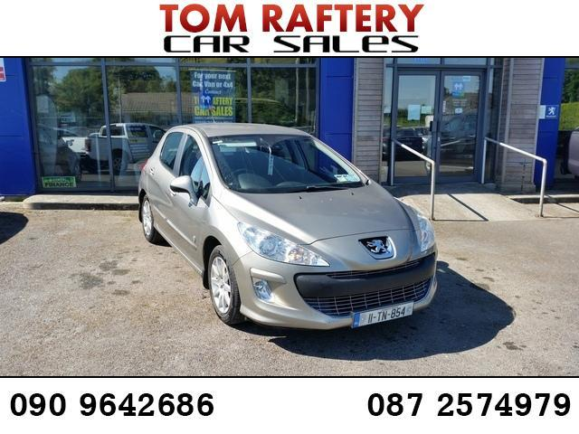 2011 Peugeot 308 1.6 HDI ENVY 92BHP