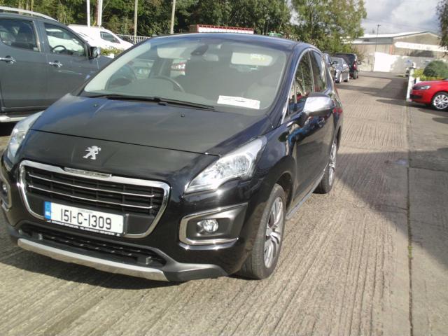 2015 Peugeot 3008 1.6 HDI 115 BHP ACTIVE