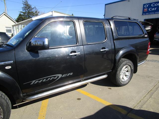 2008 Ford Ranger NT D/cab Thunder 2.5 143PS