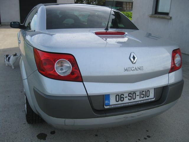 2006 renault megane 1 6 16v monaco coupe cabriolet price 2 950 1 6 petrol for sale in wexford. Black Bedroom Furniture Sets. Home Design Ideas