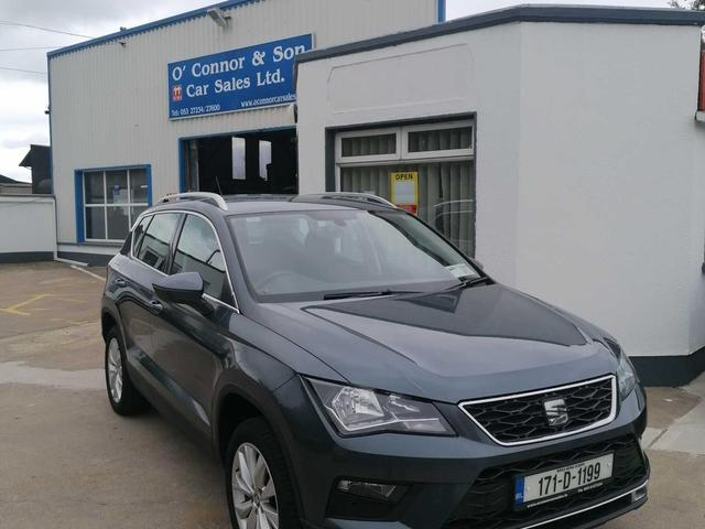 2017 SEAT Ateca 1.6tdi 115HP ECO SE 5DR
