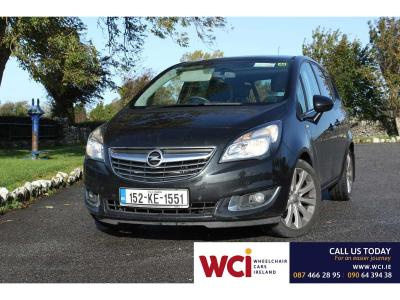 Image 1 for Opel Meriva Wheelchair Accessible