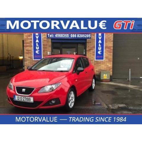 2012 SEAT Ibiza *Sold* 1.2 TDI CR S. E.
