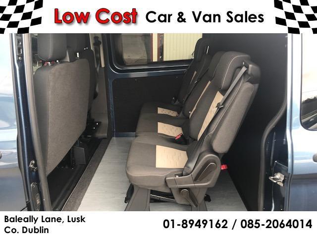 Ford transit custom crew cab for sale