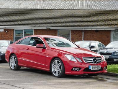 2011 e class coupe specs