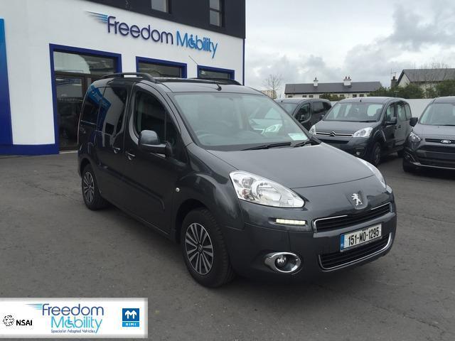 6b0a1242e1 2015 (151) Peugeot Partner Tepee 1.6 HDI TEPEE PREMIUM taxi