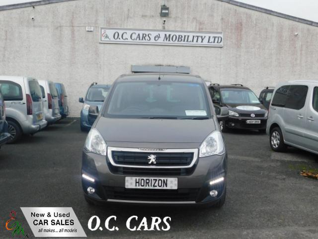 2018 Peugeot Partner Tepee Act Blue Wheelchair Accessible Vehicle ...