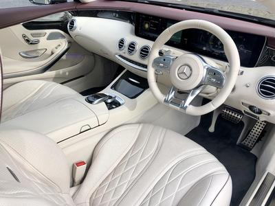 Image 7 for Mercedes-Benz S Class S 63 AMG COUPE  612 BHP AUTO==HUGE SPEC==COST €285K NEW==