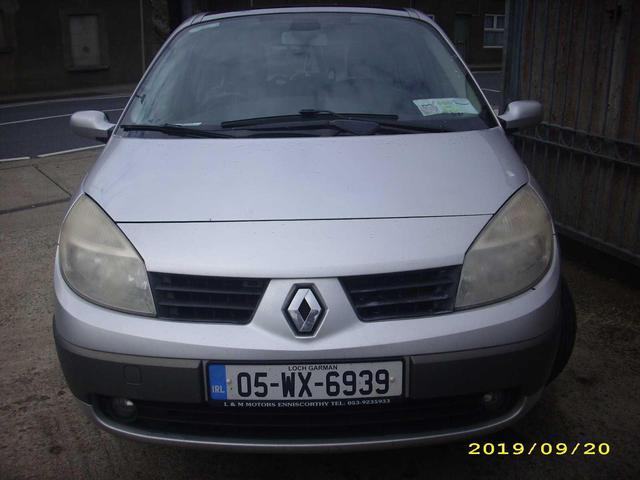 2005 Renault Grand Scenic 1 6 16v Exception Price 950 1 6