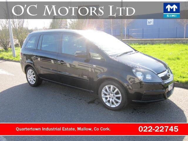 2008 Opel Zafira 19 Cdti Club 120ps Price 3950 19 Diesel