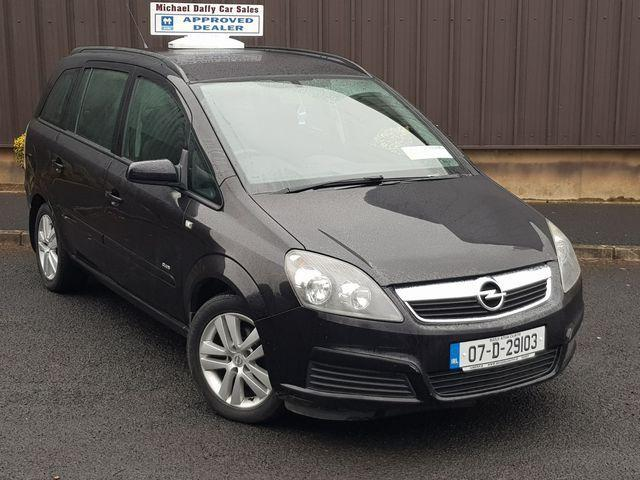 2007 Opel Zafira Club 1.6I 16V