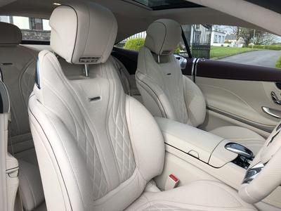 Image 10 for Mercedes-Benz S Class S 63 AMG COUPE  612 BHP AUTO==HUGE SPEC==COST €285K NEW==