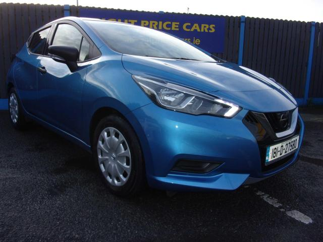 2018 Nissan Micra 1.0 S 4DR