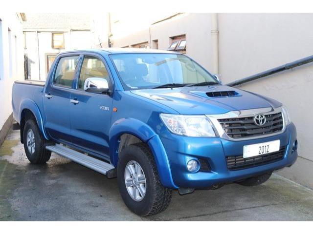 2012 Toyota Hilux 2 5 D4D Double Cab 140BHP 4DR, Price: €16,950 2 5