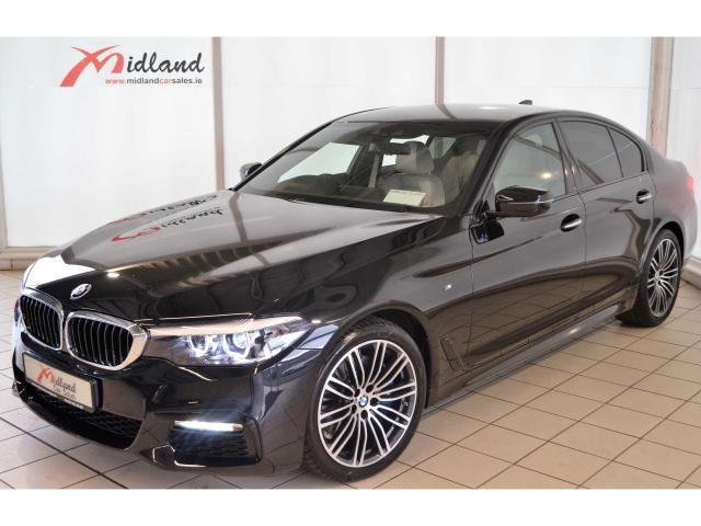 2018 bmw 5 series 530d m sport ivory white leather reversing