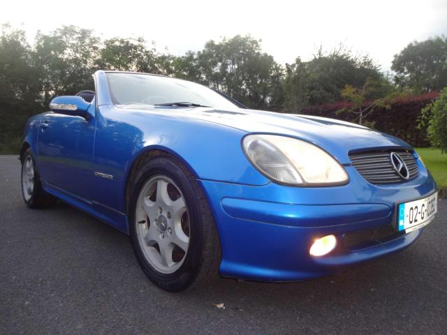 2002 Mercedes-Benz SLK 230 2 3 SLK KOMPRESSOR-LOW COST MOTOR