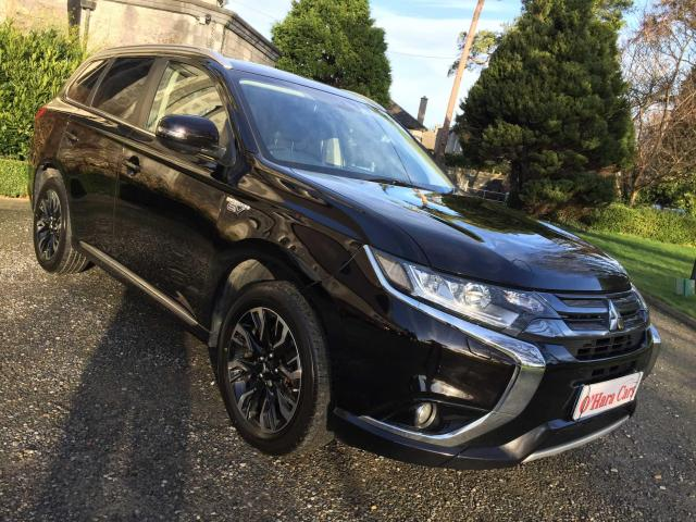 2015 Mitsubishi Outlander GX4H , NEW MODEL , HYBRID , LEATHER , SAT NAV