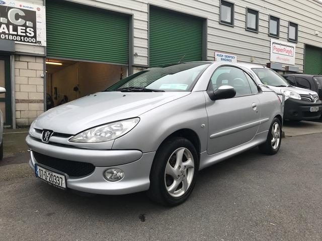 2007 Peugeot 206 Coupe Cabriolet, Price: €1,999 1.6 Petrol for sale ...
