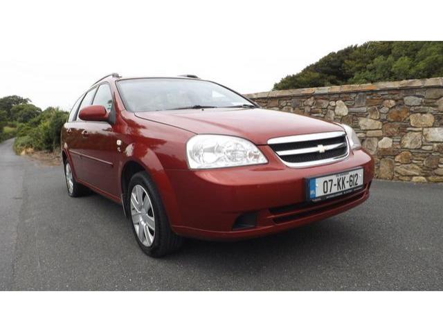2007 chevrolet lacetti 1 6 sx ac estate price u20ac2 250 1 6 petrol rh carsireland ie Uz Daewoo Lacetti Chevrolet Matiz