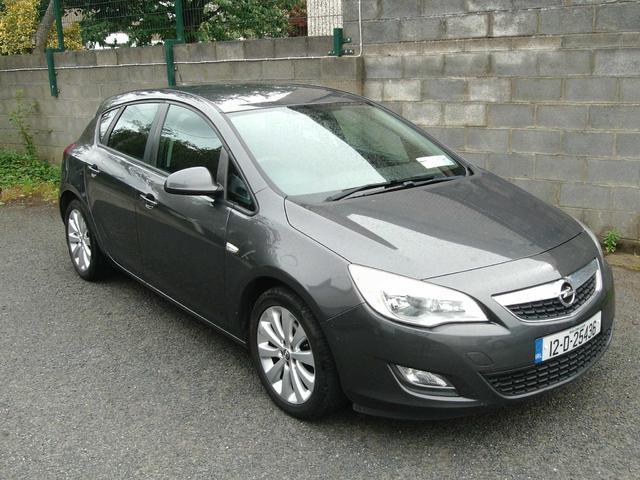 2012 Opel Astra 1.2 Diesel