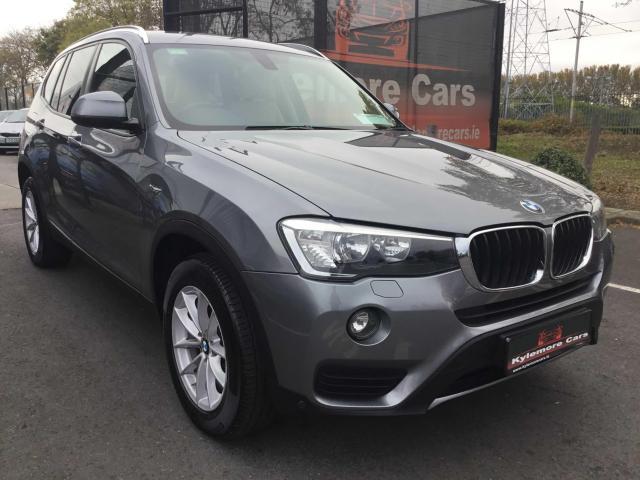 2015 BMW X3 2.0 Diesel