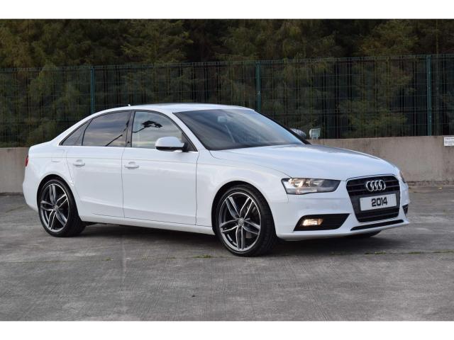 2014 Audi A4 2 0tdi Se Technik Ibis White Full Leather Sat