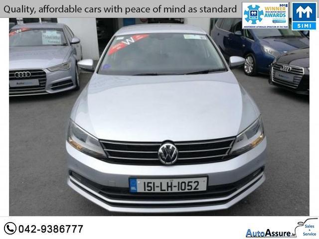 2015 (151) Volkswagen Jetta 2 0 TDI HIGHLINE 110BHP *** Half