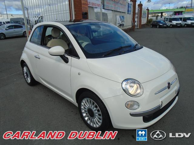 2012 Fiat 500 1.2I LOUNGE S/S 2 YEAR WARRANTY MINT LOW MILEAGE ...