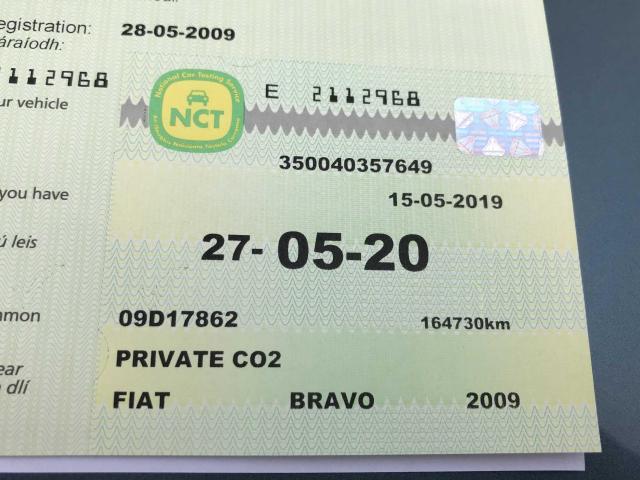 2009 Fiat Bravo 1 9 MULTIJET SPORT 150BHP // NCT 05/2020