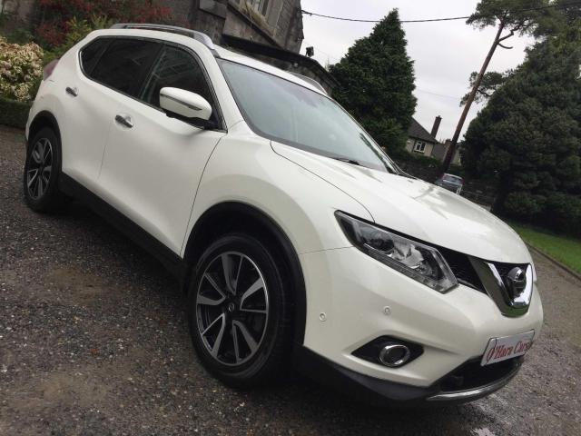 2015 Nissan X-Trail 7 SEATER, TEKNA, LEATHER, SAT NAV, CAMERAS
