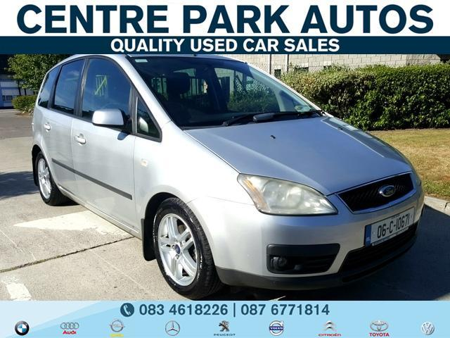 2006 Ford Focus 1 6 C Max Zetec Tdci Activa New Nct Immaculate