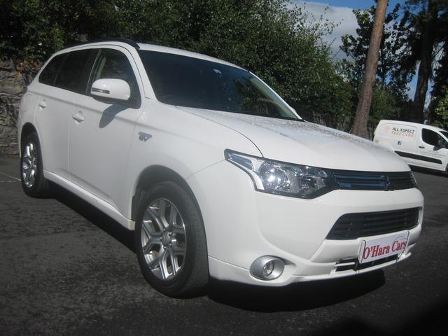 2015 Mitsubishi Outlander 2.0 PHEV GX3H AUTO , 66K , WHITE , €170 TAX