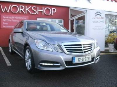 Photos of 2012 Mercedes-Benz E CLASS 2.1L Automatic