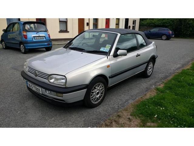 1998 Volkswagen Golf Cabrio Price 1000 20 Petrol For Sale In