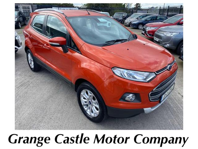 2015 Ford Ecosport Titanium X Pack 1.5 TDCi 91PS 200-TAX