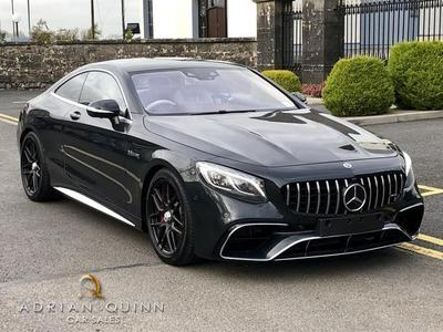 Image 4 for Mercedes-Benz S Class S 63 AMG COUPE  612 BHP AUTO==HUGE SPEC==COST €285K NEW==