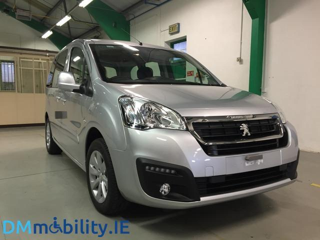 2018 peugeot partner tepee wheelchair accessible car price 23 495 1 6 diesel for sale in. Black Bedroom Furniture Sets. Home Design Ideas